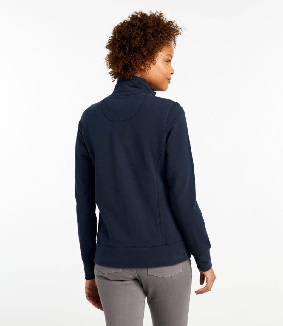 Ultrasoft Sweats, Full-Zip Mock-Neck Jacket