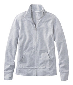 Women's Ultrasoft Sweats, Full-Zip Mock-Neck Jacket
