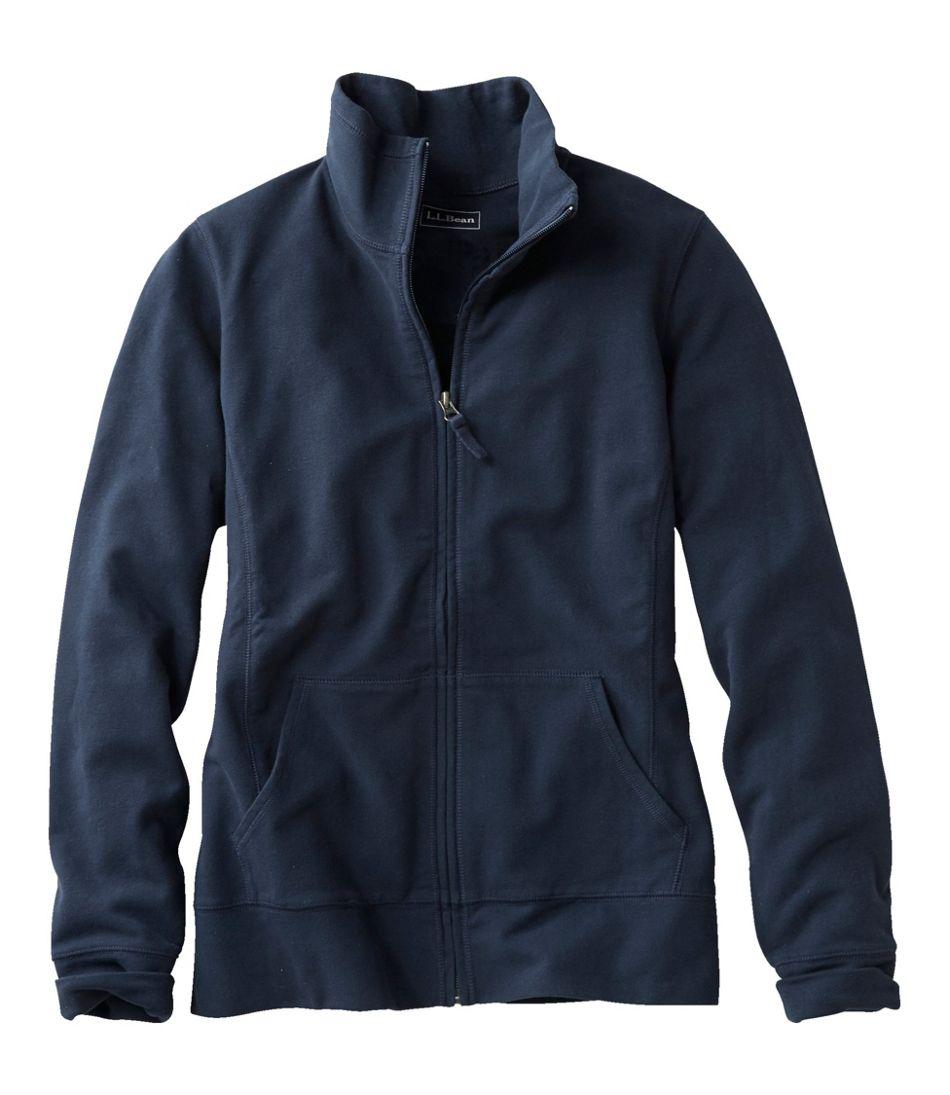 Women's Ultrasoft Sweats, Full-Zip Mock-Neck Jacket