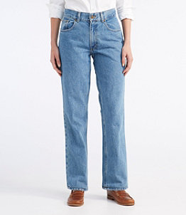 Women's Double L Jeans, Straight-Leg