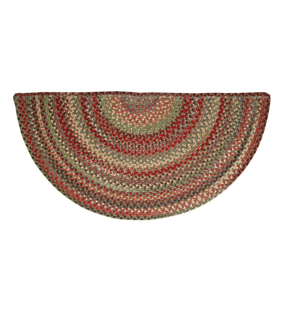 L.L.Bean Braided Wool Rug, Crescent