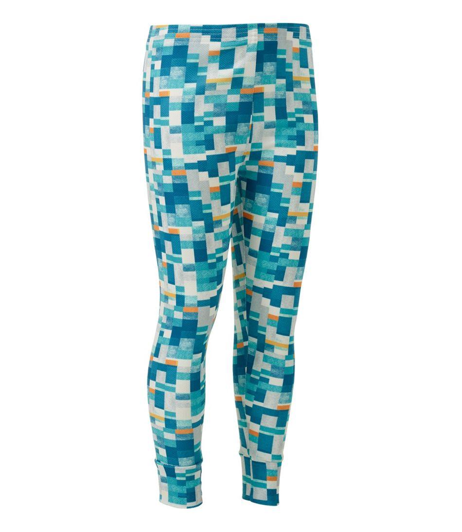 Kids' Wicked Warm Midweight Long Underwear, Pants Print