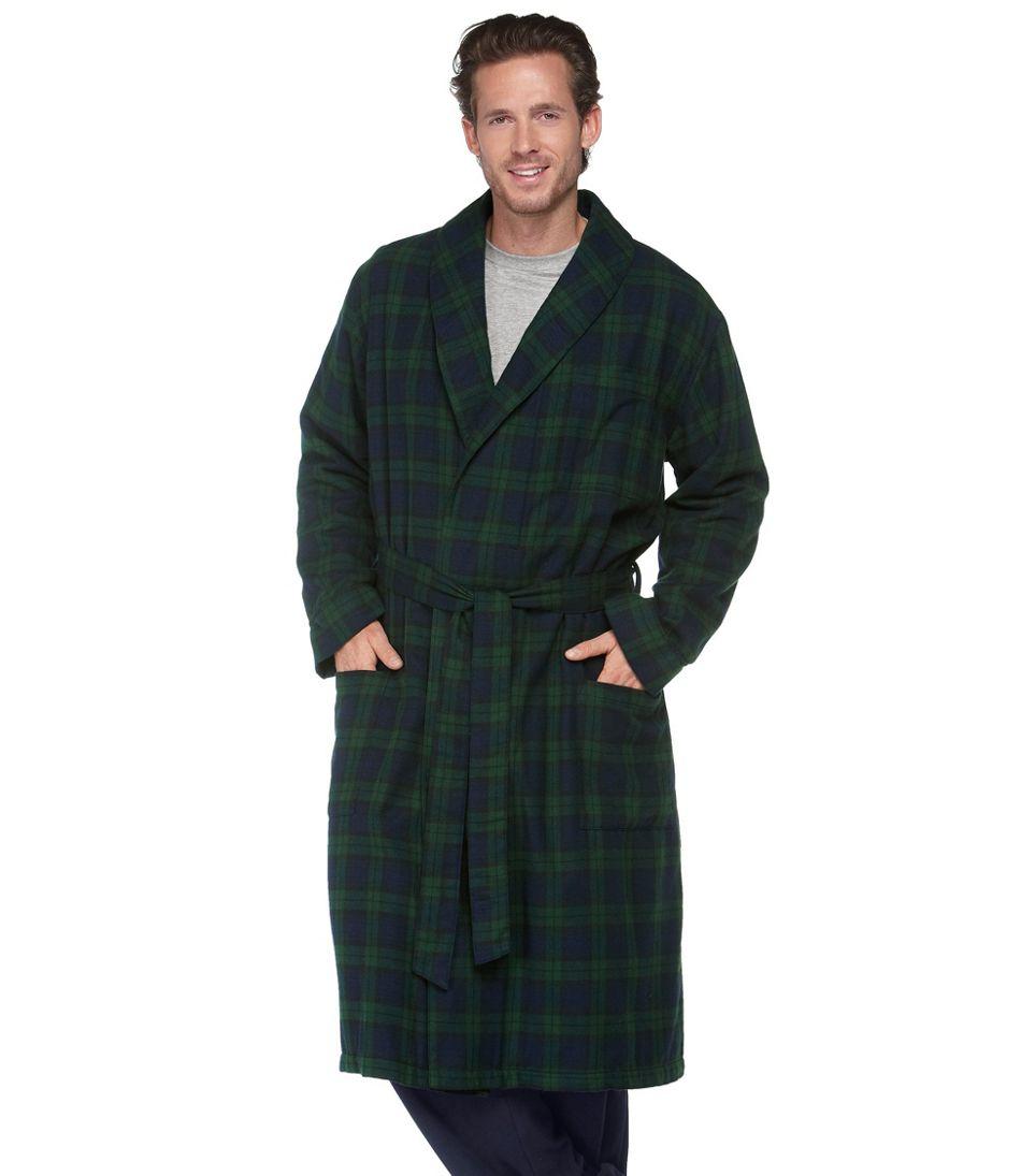 Scotch Plaid Flannel Robe bbdaa0fa8