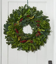 Woodland Berry Wreath