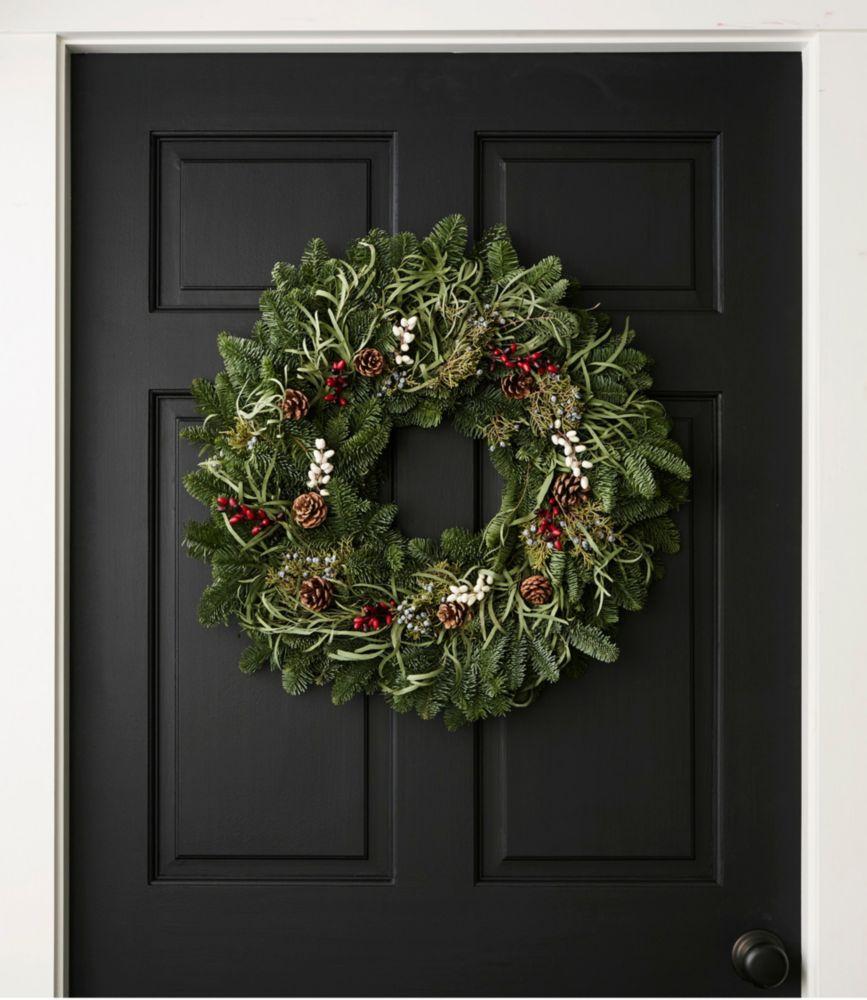 Woodland Eucalyptus Christmas Wreath