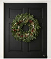 Woodland Eucalyptus Wreath, One Color, small image number 0