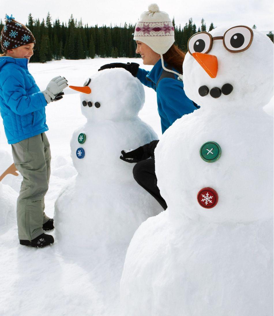 Snowman Family Kit