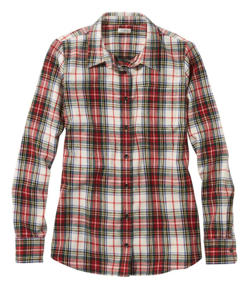 b5fa9f7485f Women s Scotch Plaid Flannel Shirt