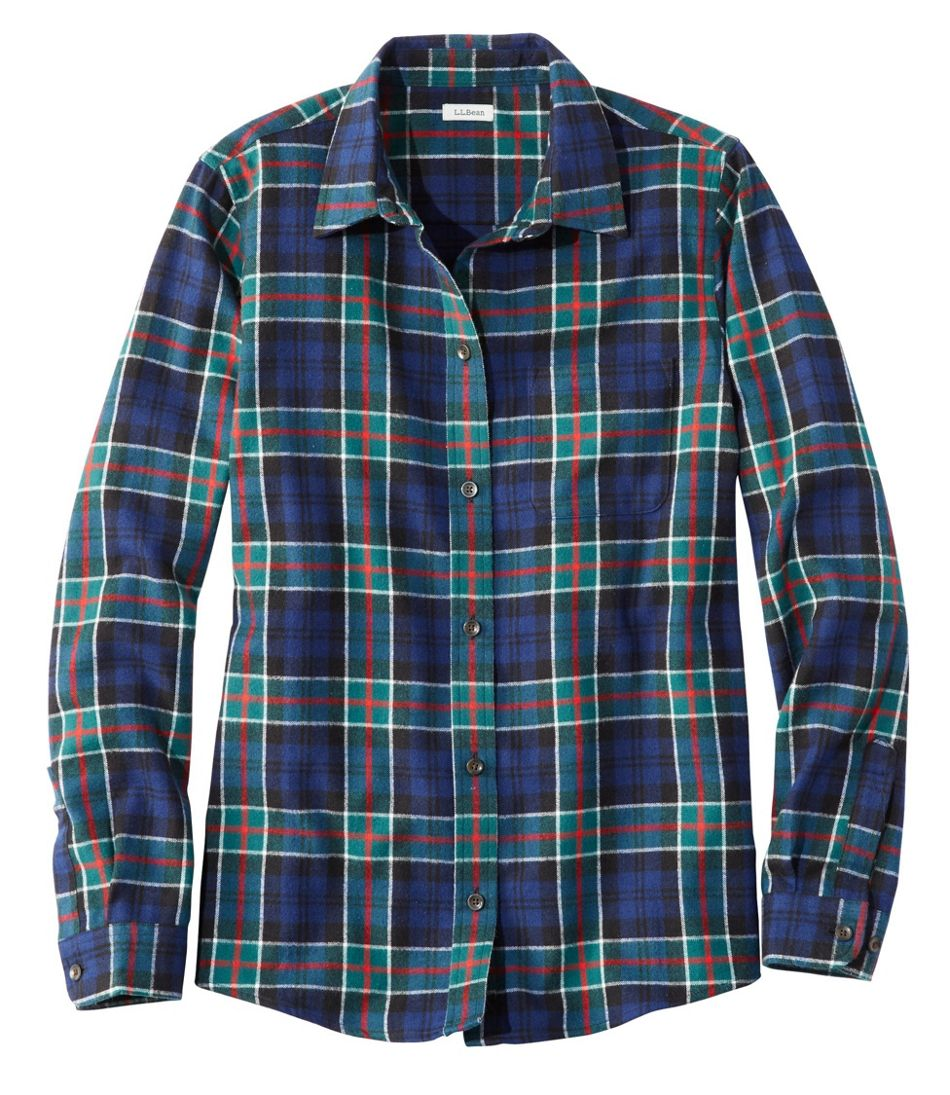 aefef934 Women's Scotch Plaid Flannel Shirt, Relaxed