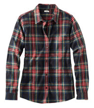 Scotch Plaid Flannel Shirt, Relaxed