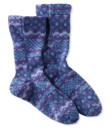 Adults' L.L.Bean Fleece Socks