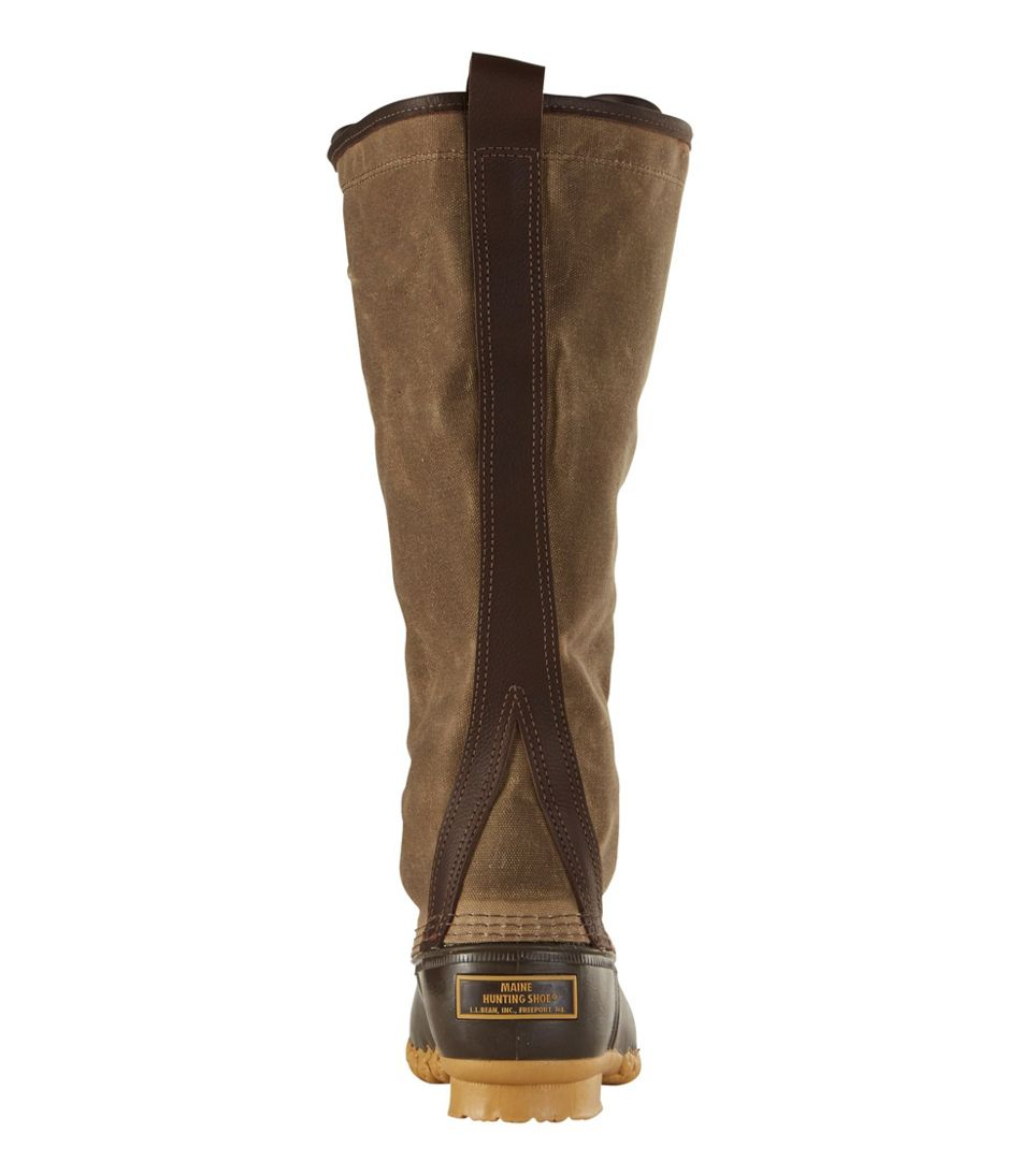 """Women's Signature Waxed-Canvas Maine Hunting Shoe, 16"""""""
