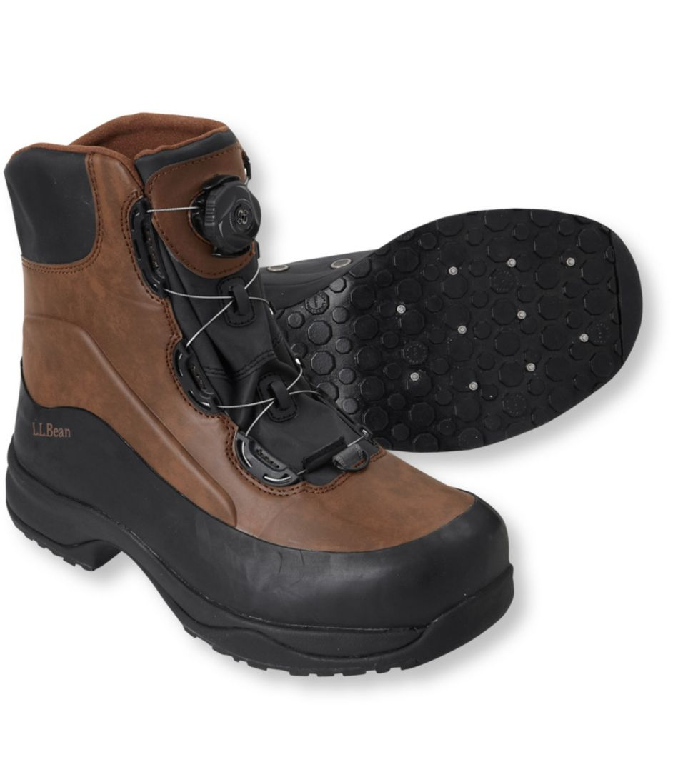 Men's River Treads Wading Boots with Boa Closure, Studded