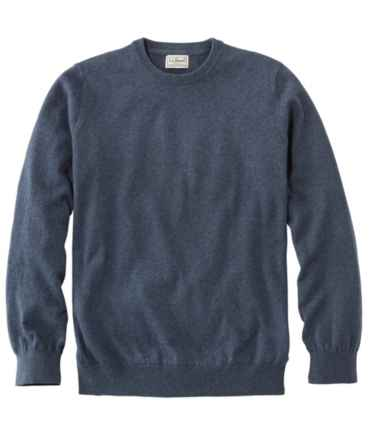 Men's Cotton/Cashmere Sweater, Crewneck