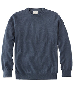 Cotton/Cashmere Sweater, Crewneck