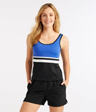 L.L.Bean Swim Jogger, Scoopneck Top
