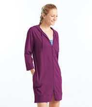 Hooded Swim Cover-Up