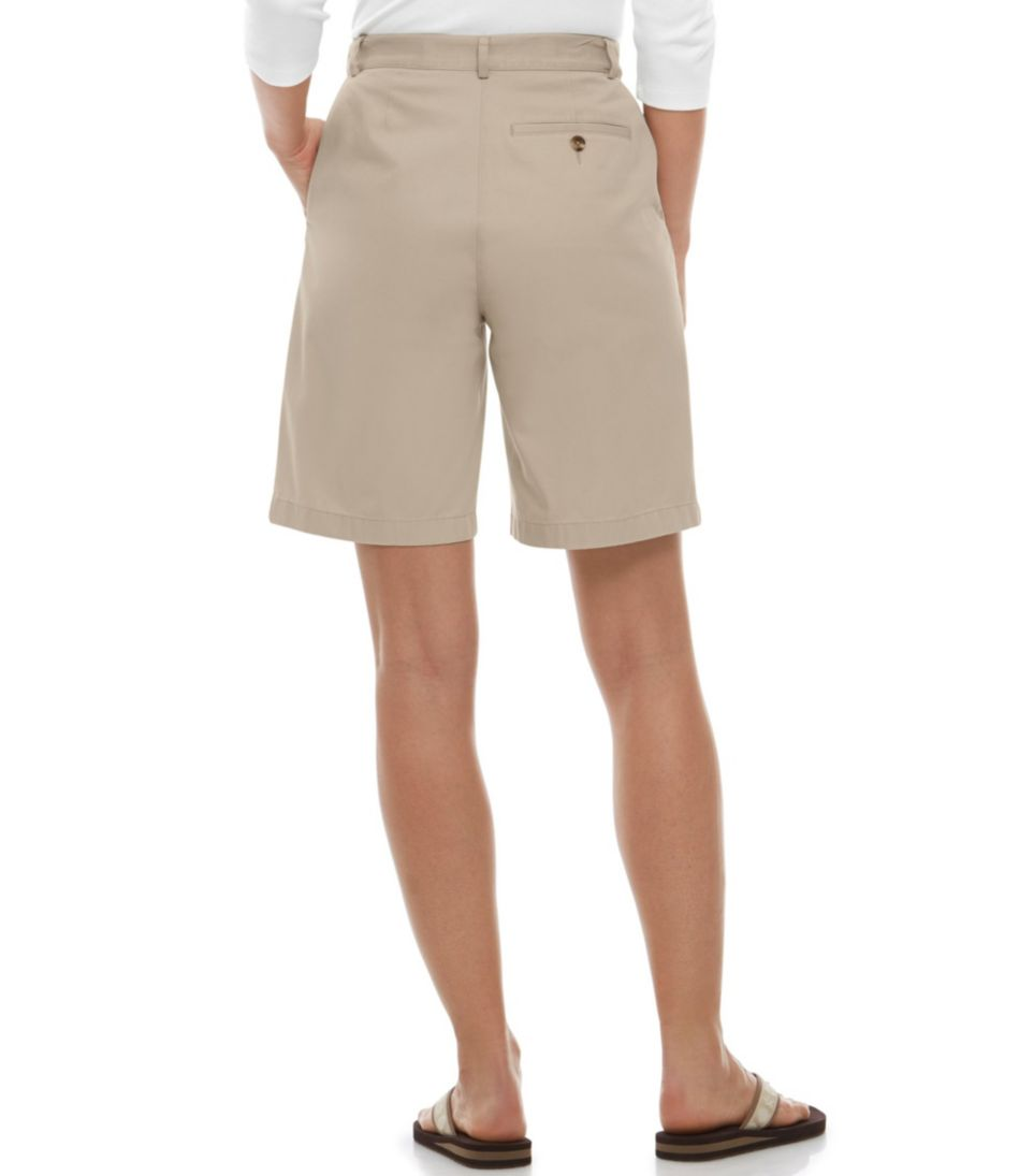 Wrinkle-Free Bayside Shorts, Original Fit Hidden Comfort Waist 9""