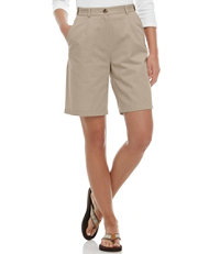 Wrinkle-Free Bayside Shorts, Original Fit Hidden Comfort Waist 9