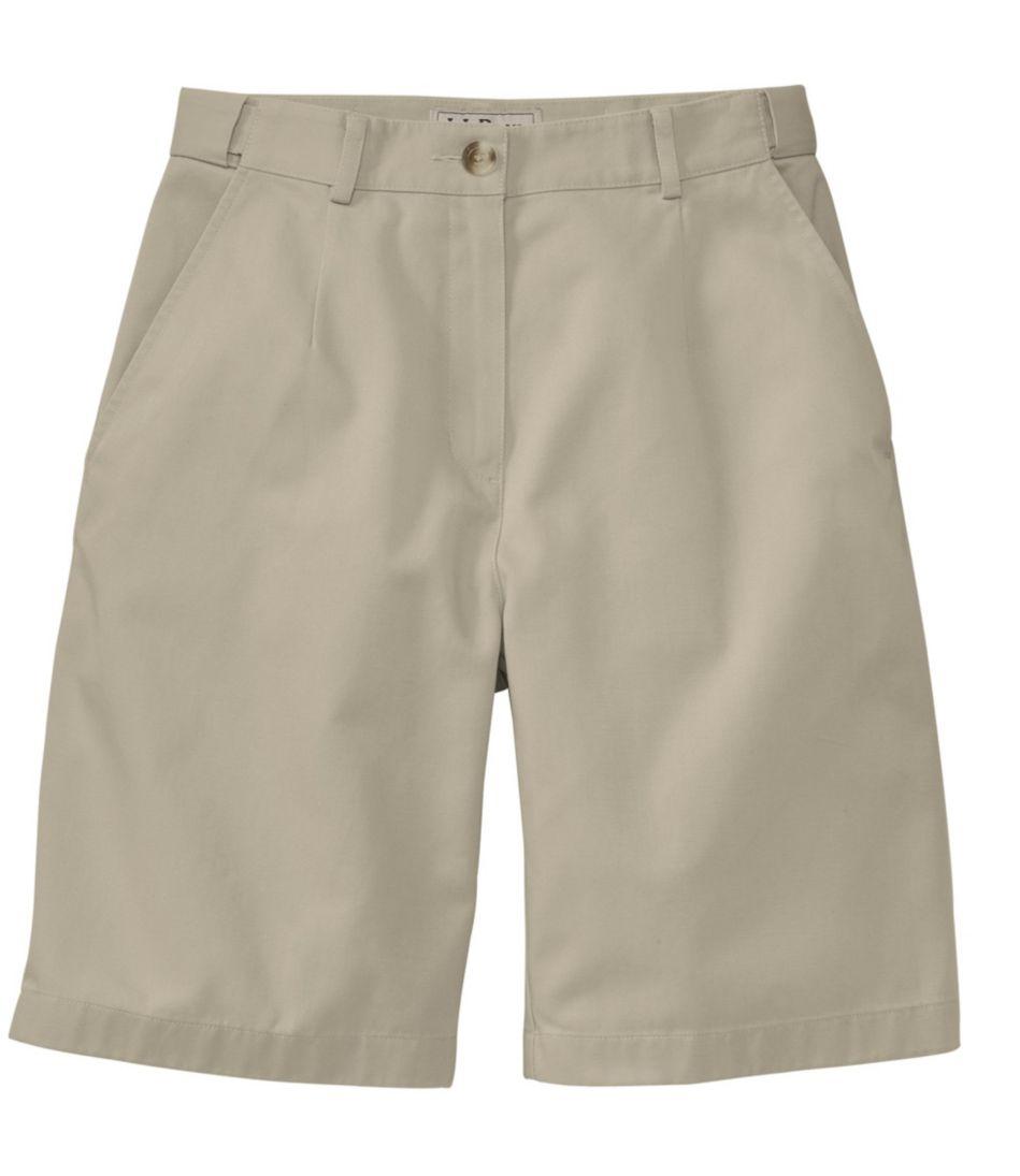 "Wrinkle-Free Bayside Shorts, Original Fit Hidden Comfort Waist 9"""