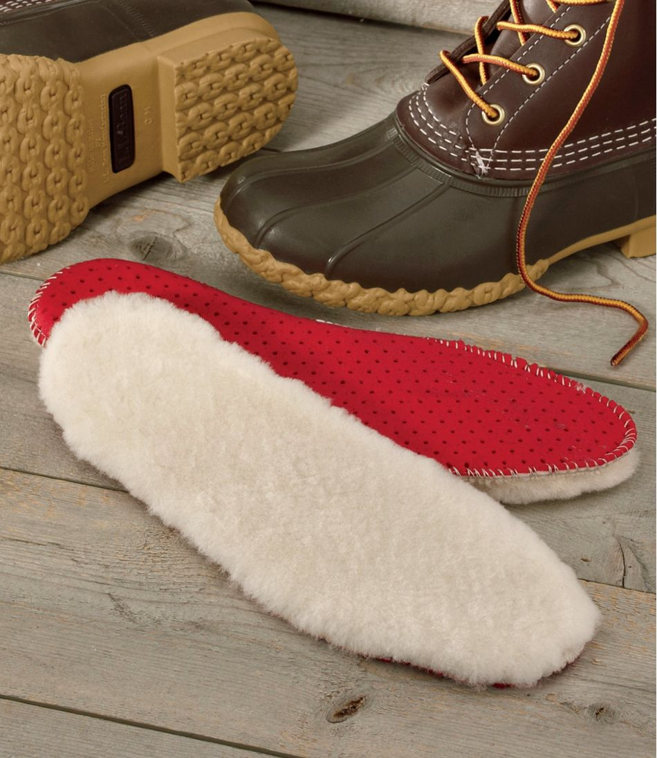 Adults' Shearling Insoles