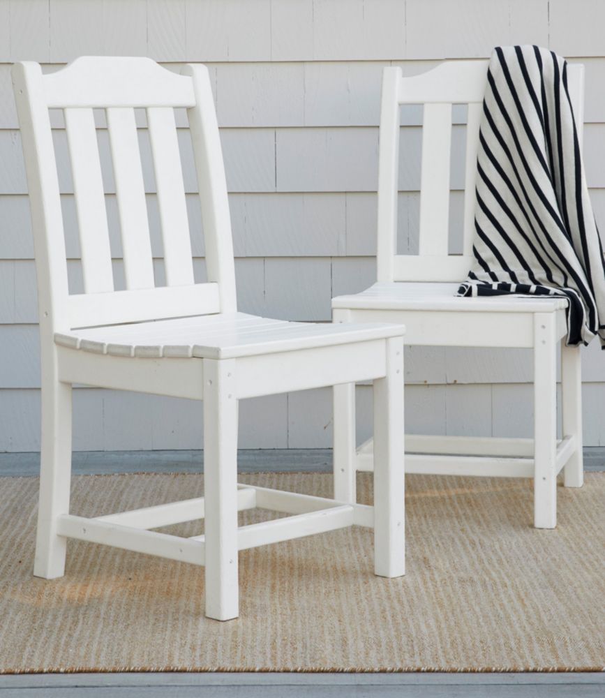 Amazing All Weather Armless Dining Chair, Set Of Two