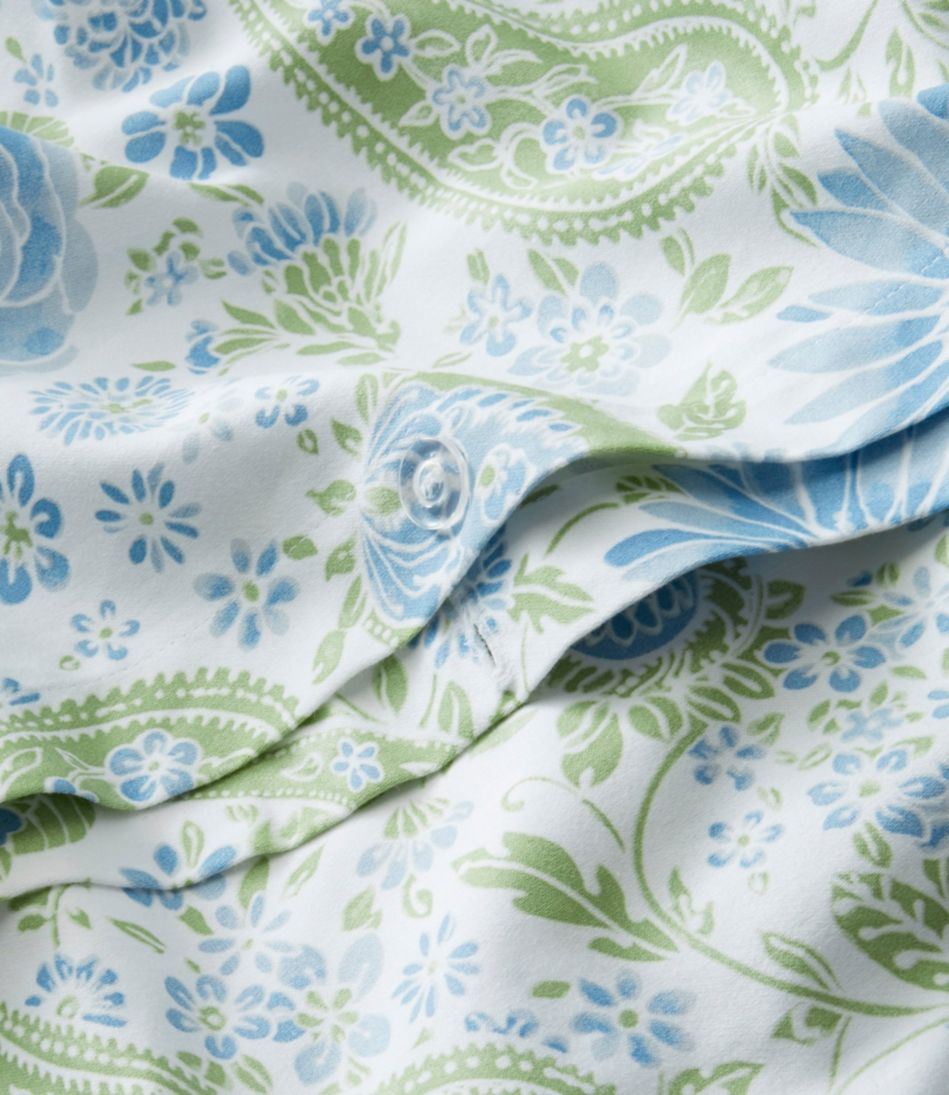 Wrinkle-Free Comforter Cover, Floral