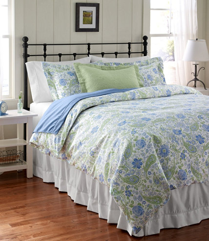 Wrinkle Free Comforter Cover Floral