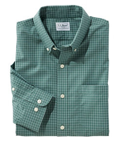 Men's Wrinkle-Free Check Shirt, Traditional Fit