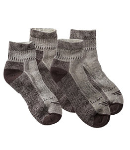 Men's Cresta Hiking Socks, Midweight Quarter-Crew Two-Pack