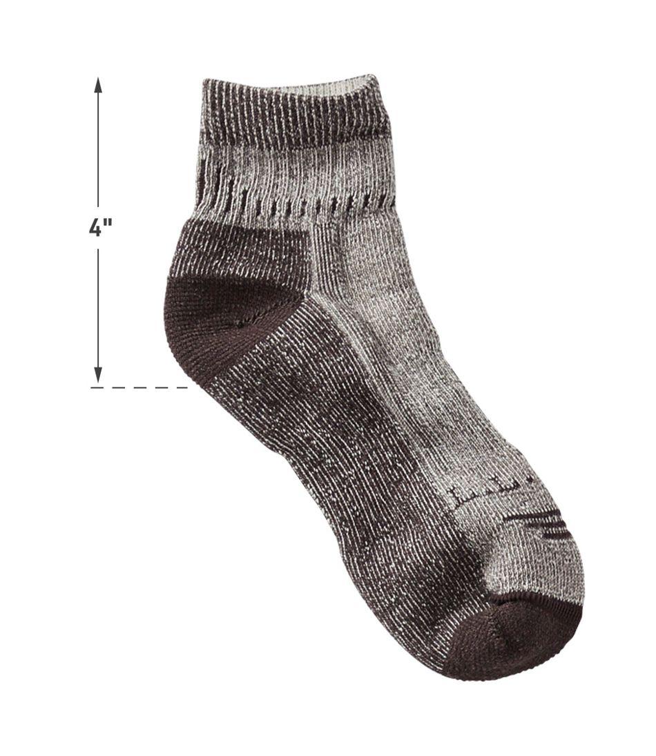 Men's Cresta Hiking Socks, Wool-Blend Midweight Quarter Crew