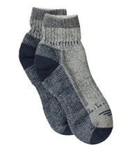 Men's Cresta Hiking Socks, Wool-Blend Midweight Quarter Crew, One Pair