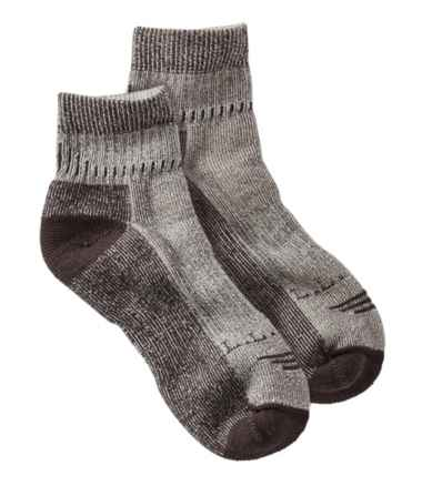 Men's Cresta Hiking Socks, Wool-Blend Midweight Quarter Crew