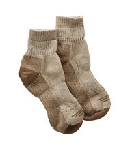 Adults' Wool-Blend Cresta Socks, Midweight Quarter-Crew One Pair