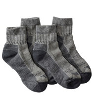 5a30f78f88905 Cresta Wool-Blend Hiking Socks, Midweight Quarter-Crew Two-Pack