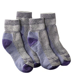 Women's Cresta Hiking Socks, Midweight Quarter-Crew Two-Pack