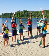 Introduction to Stand Up Paddle Boarding Course