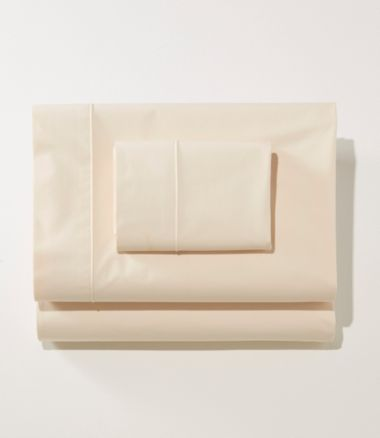Sunwashed Percale Sheet Collection