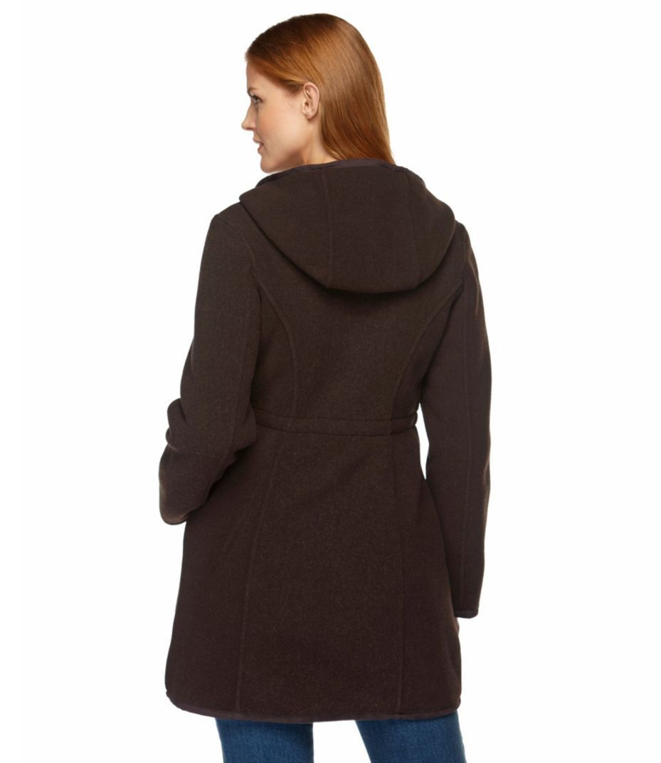 Women's Kingfield Fleece Coat, Hooded