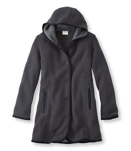 Kingfield Fleece Coat, Hooded | Free Shipping at L.L.Bean