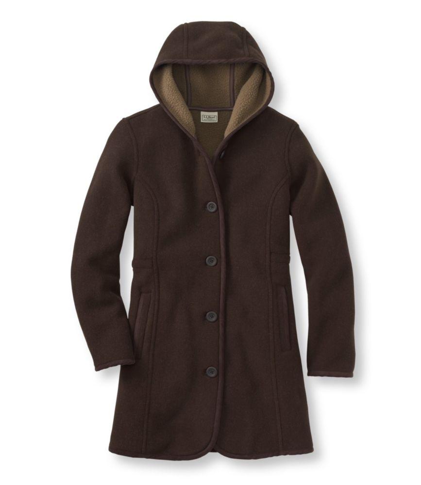 L.L.Bean Kingfield Fleece Coat