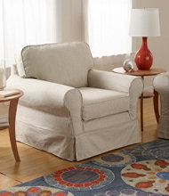 Pine Point Swivel Rocker and Slipcover