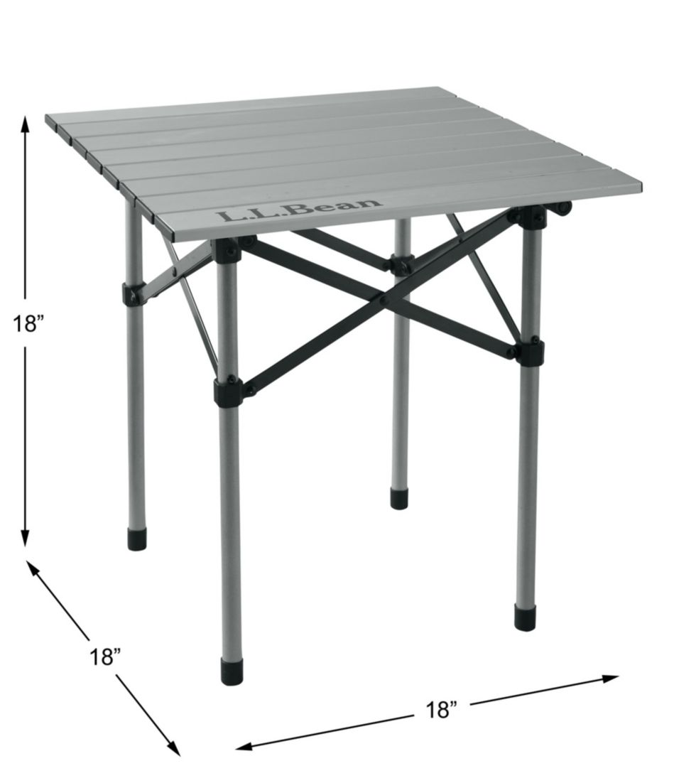 18-Inch Base Camp Side Table