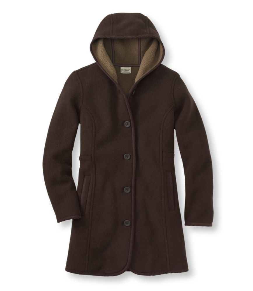 L.L.Bean Kingfield Fleece Coat