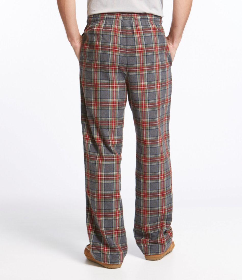 Scotch Plaid Flannel Sleep Pants