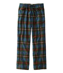 Scotch Plaid Flannel Sleep Pants