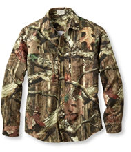 Men's Hunter's Lightweight Camo Shirt.