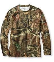 Cool Weave Camo Knit Crew