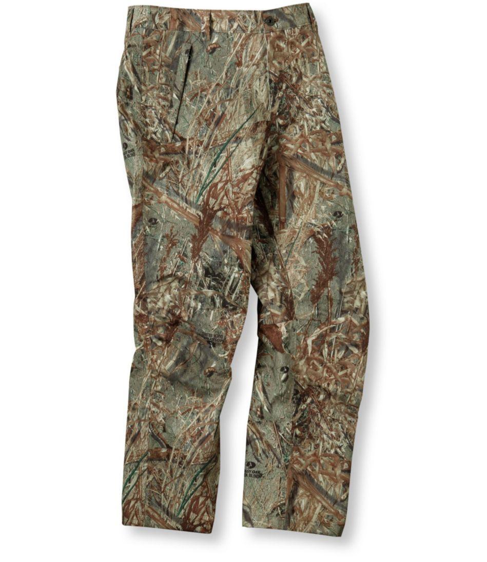 Men's Waterproof Sportsman's Chinos, Camouflage