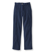 Stretch Bayside Corduroys, Classic Fit Straight-Leg Plain-Front Comfort Waist